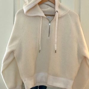 Rag & Bone Sherpa fleece hoodie